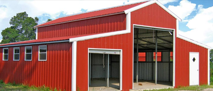 Barn Metal Siding and Roofing